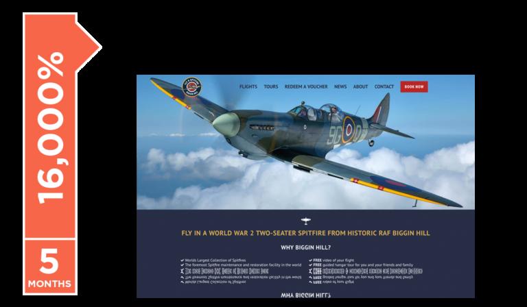 Fly A Spitfire's